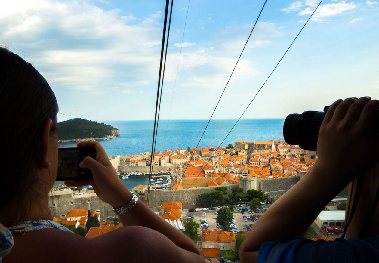 The Dubrovnik Cable Car