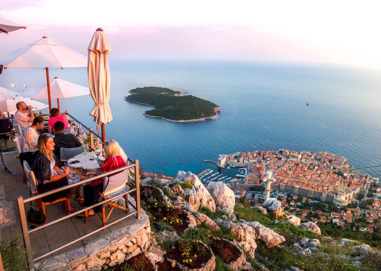 Dubrovniks Panorama Restaurant Has The Best Dinner Views