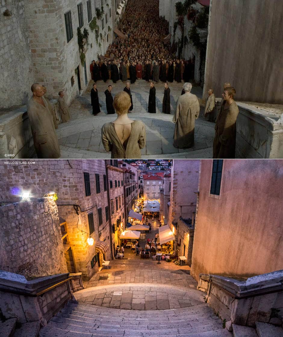 Dubrovnik Game of Thrones: Walk of Atonement Steps