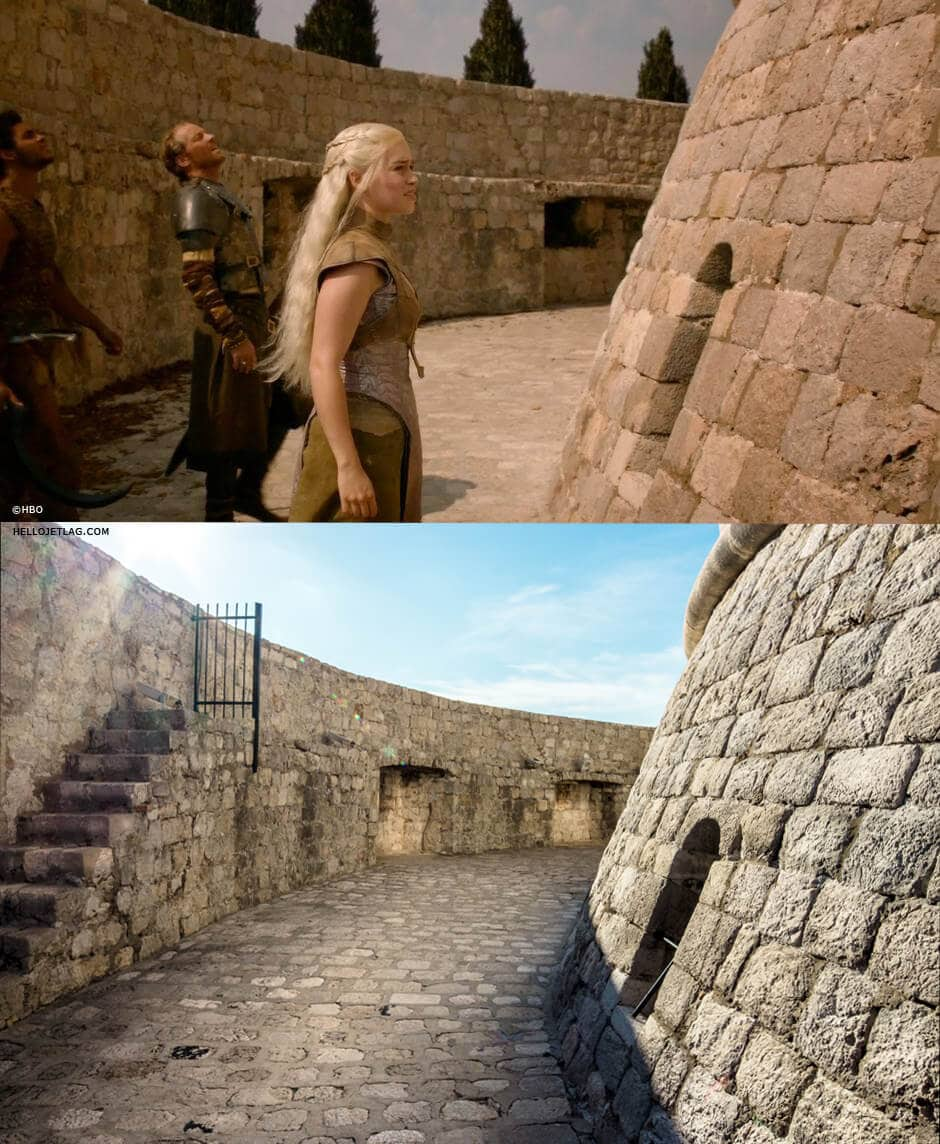 Minceta Tower aka House of the Undying: Dubrovnik Game of Thrones Tour