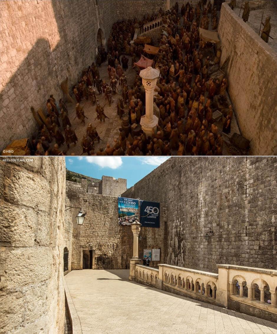 Dubrovnik Game of Thrones: King's Landing Riot at Pile Gate