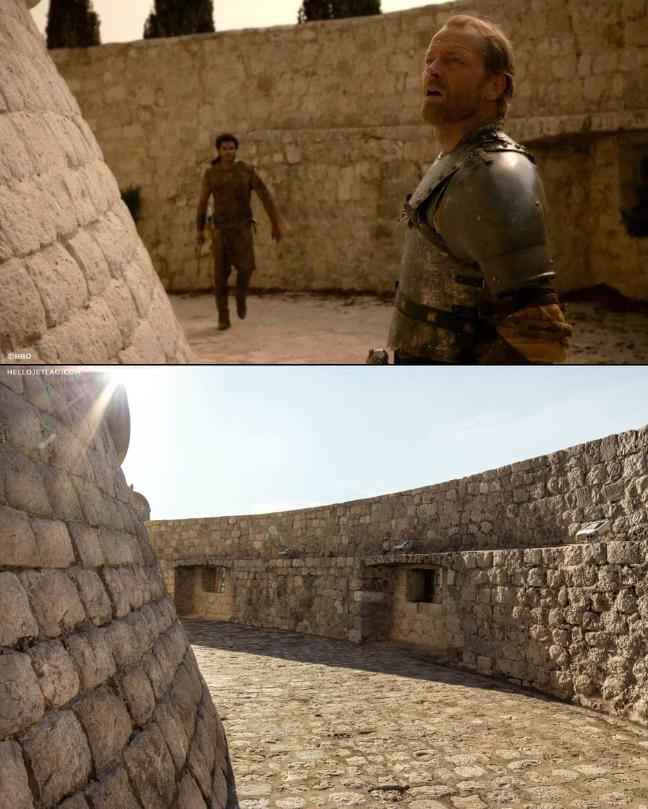 Game of Thrones in Dubrovnik: Minceta Tower aka House of the Undying