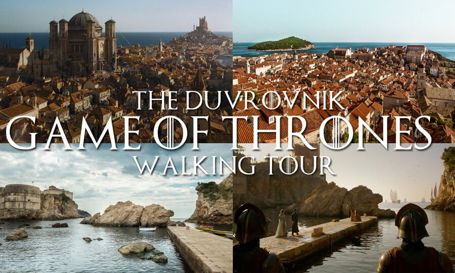 Karte Split Dubrovnik.The Dubrovnik Game Of Thrones Self Guided Walking Tour