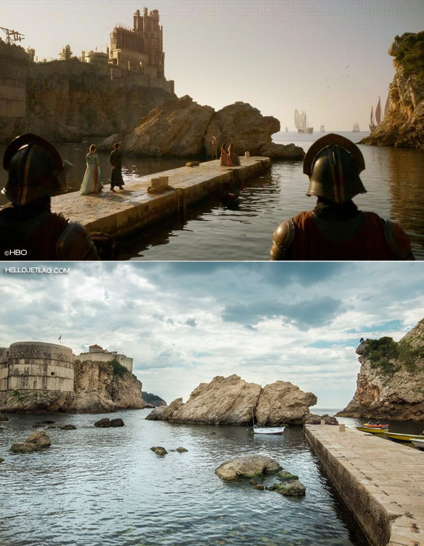 Dubrovnik Game of Thrones Tour: Pile Bay Location