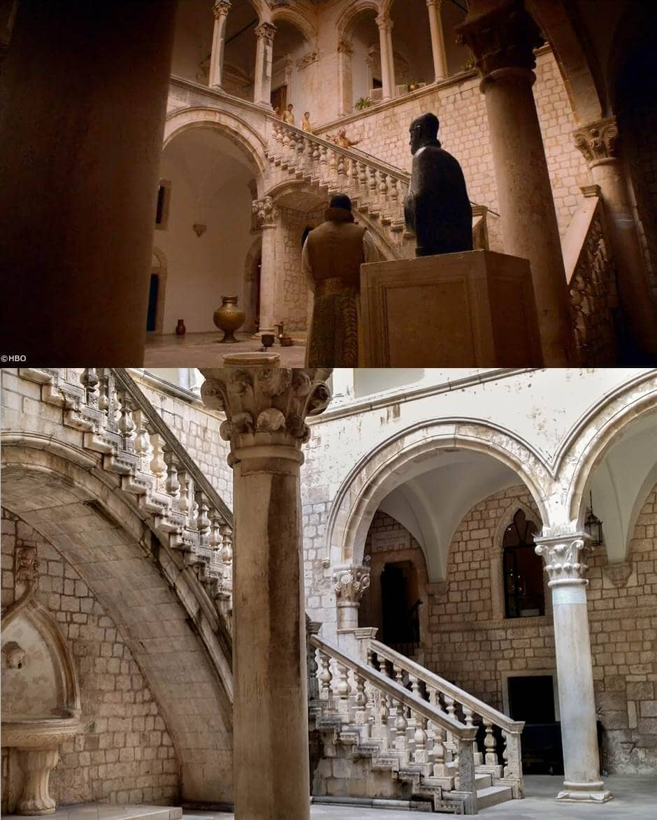 Game of Thrones Dubrovnik: Spice King's Palace aka Rector Palace