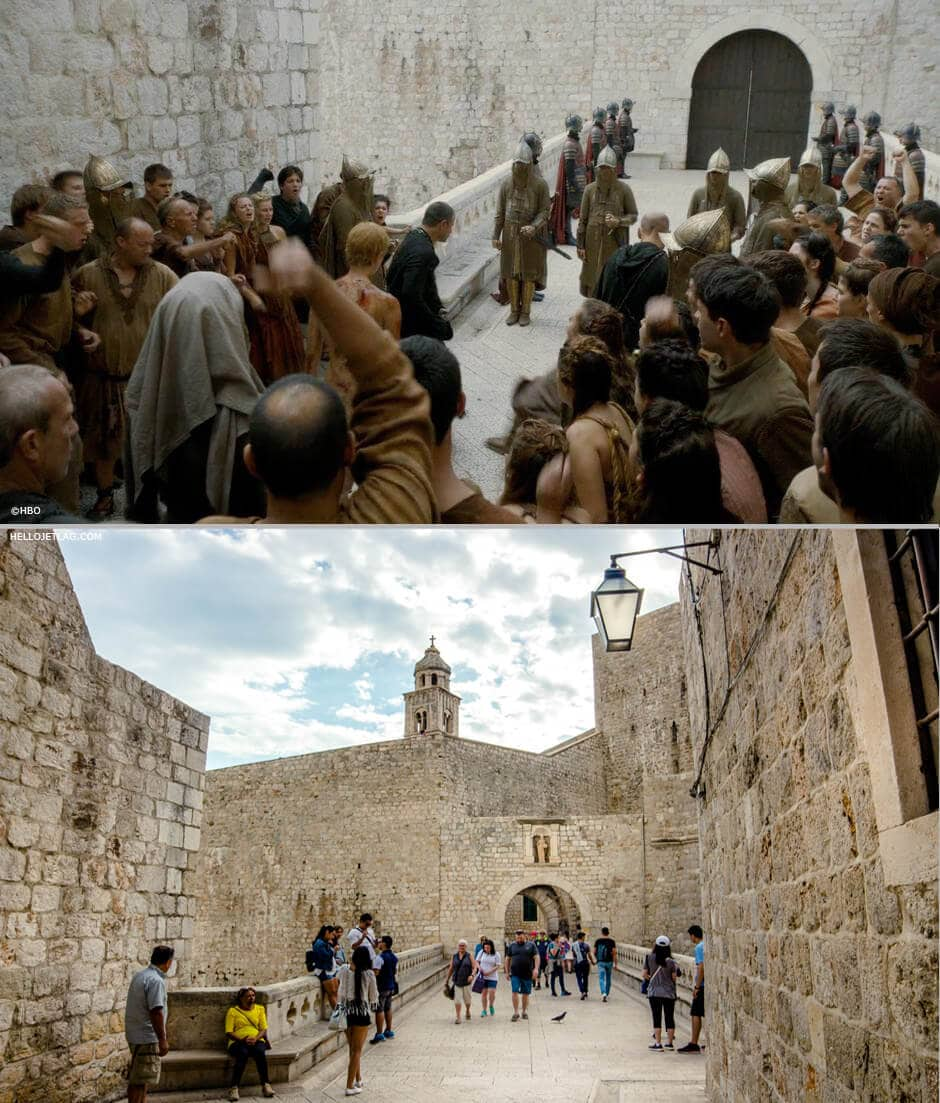 Dubrovnik Game of Thrones: Ploce Gate