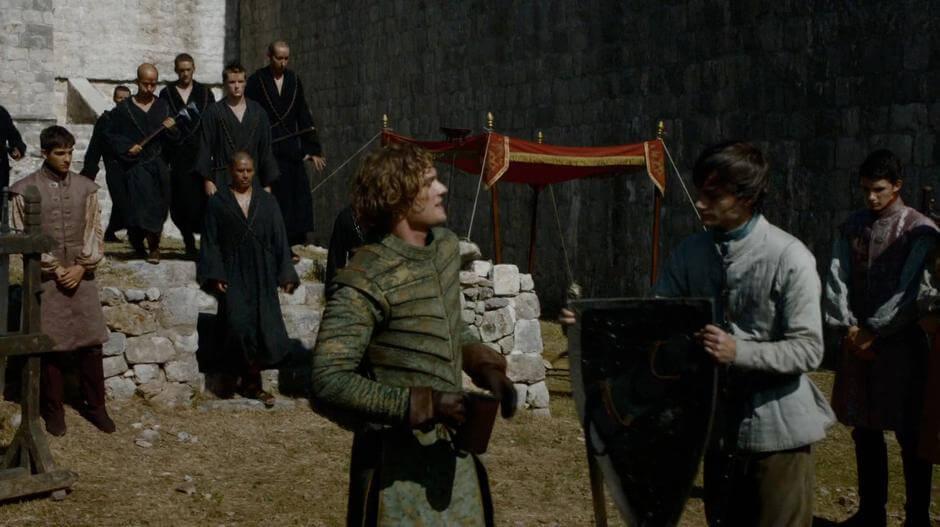 Dubrovnik Practice Yard: Game of Thrones