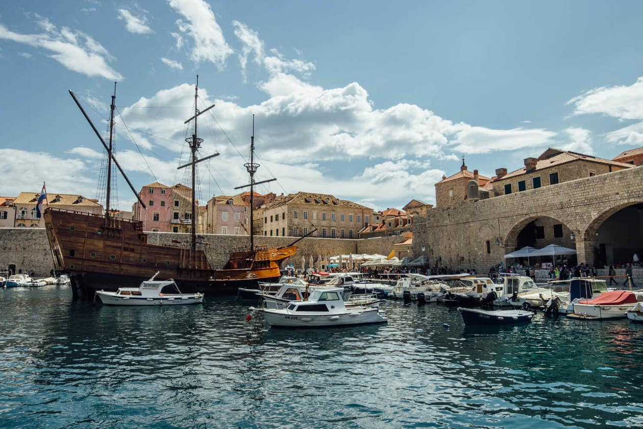 Old Town Dubrovnik Port
