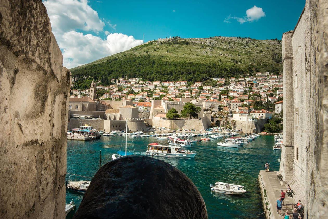 Old Town Dubrovnik Port
