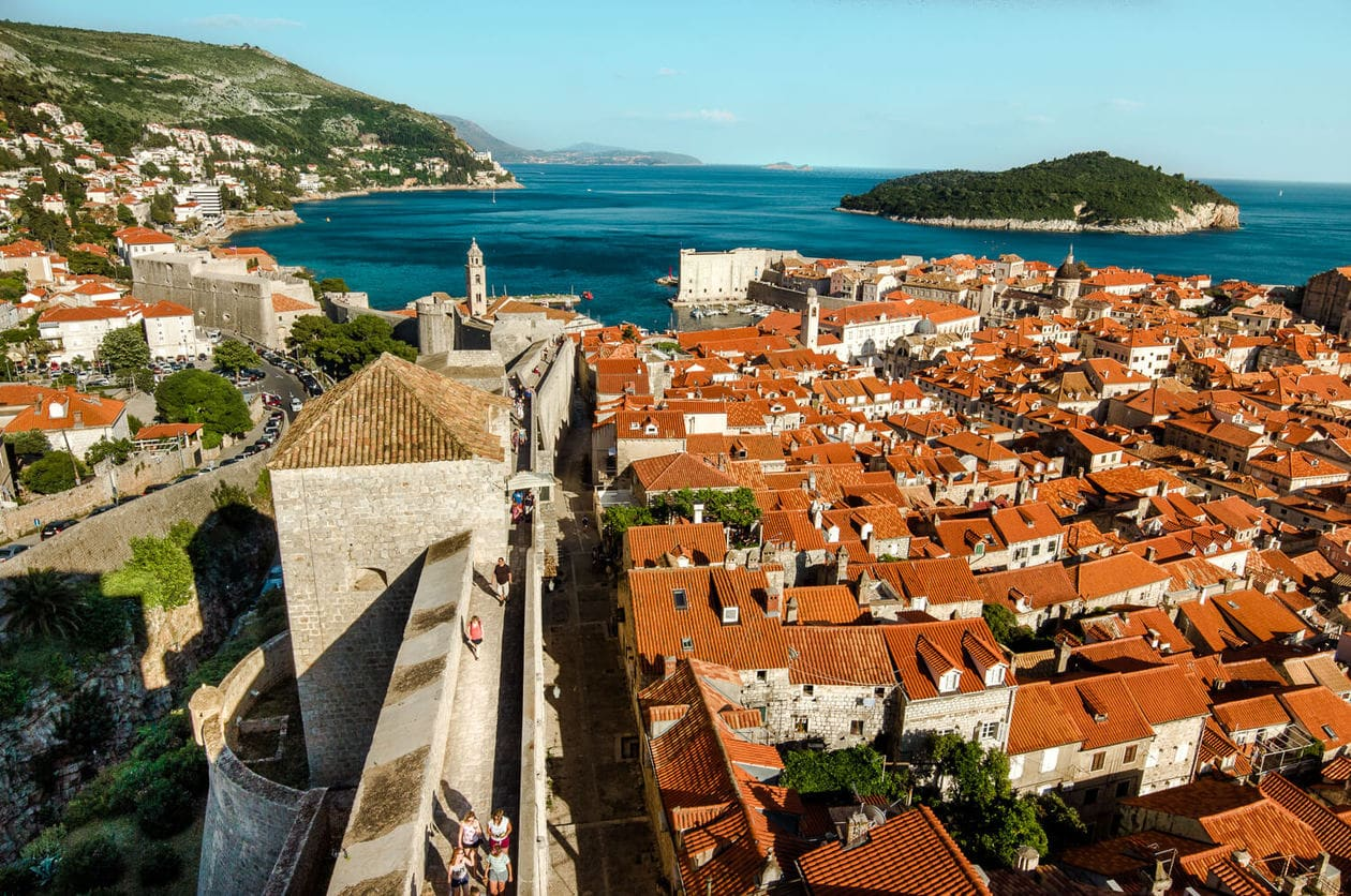 View of Dubrovnik from Minceta Tower