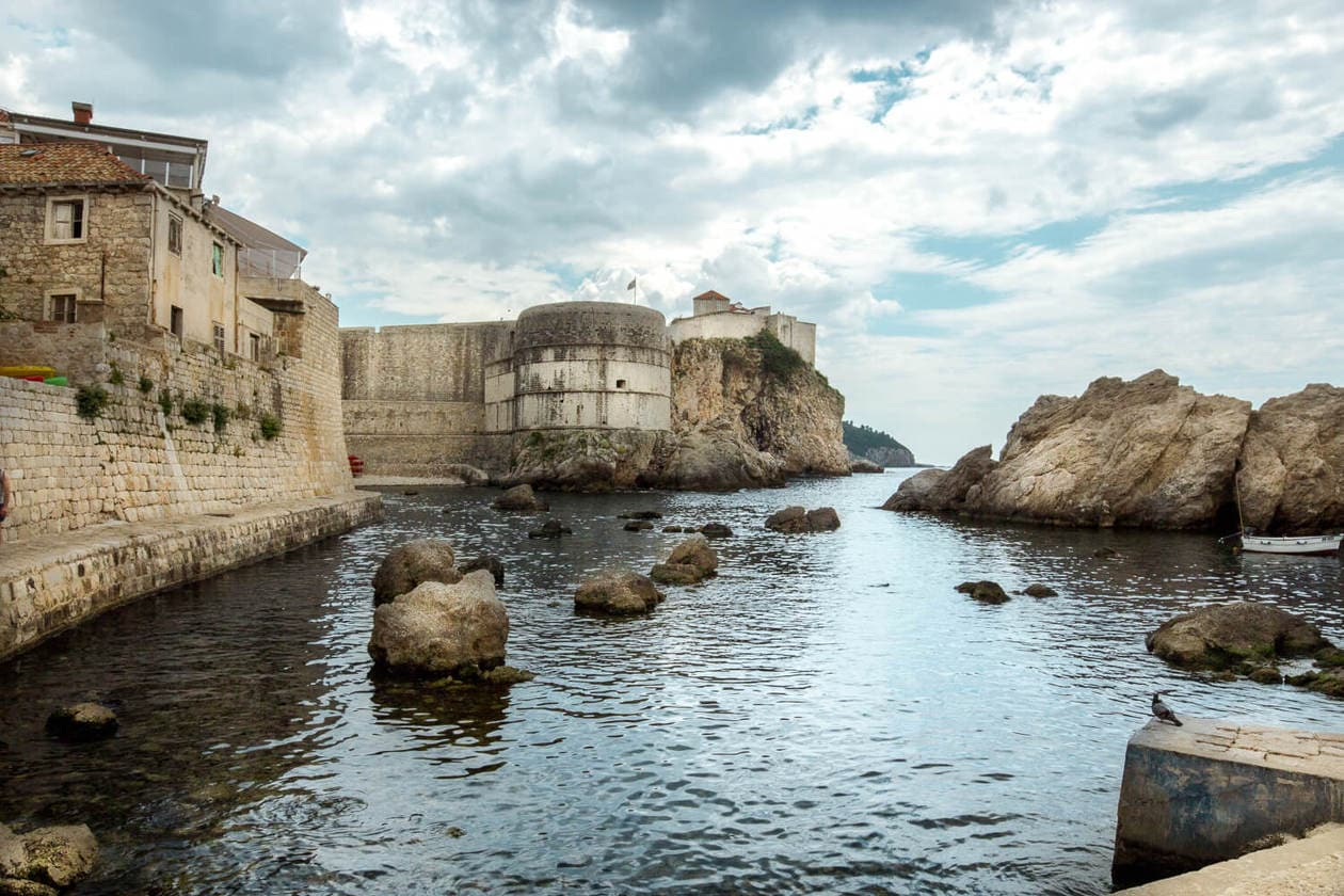Fort Bokar from Pile Bay | Dubrovnik