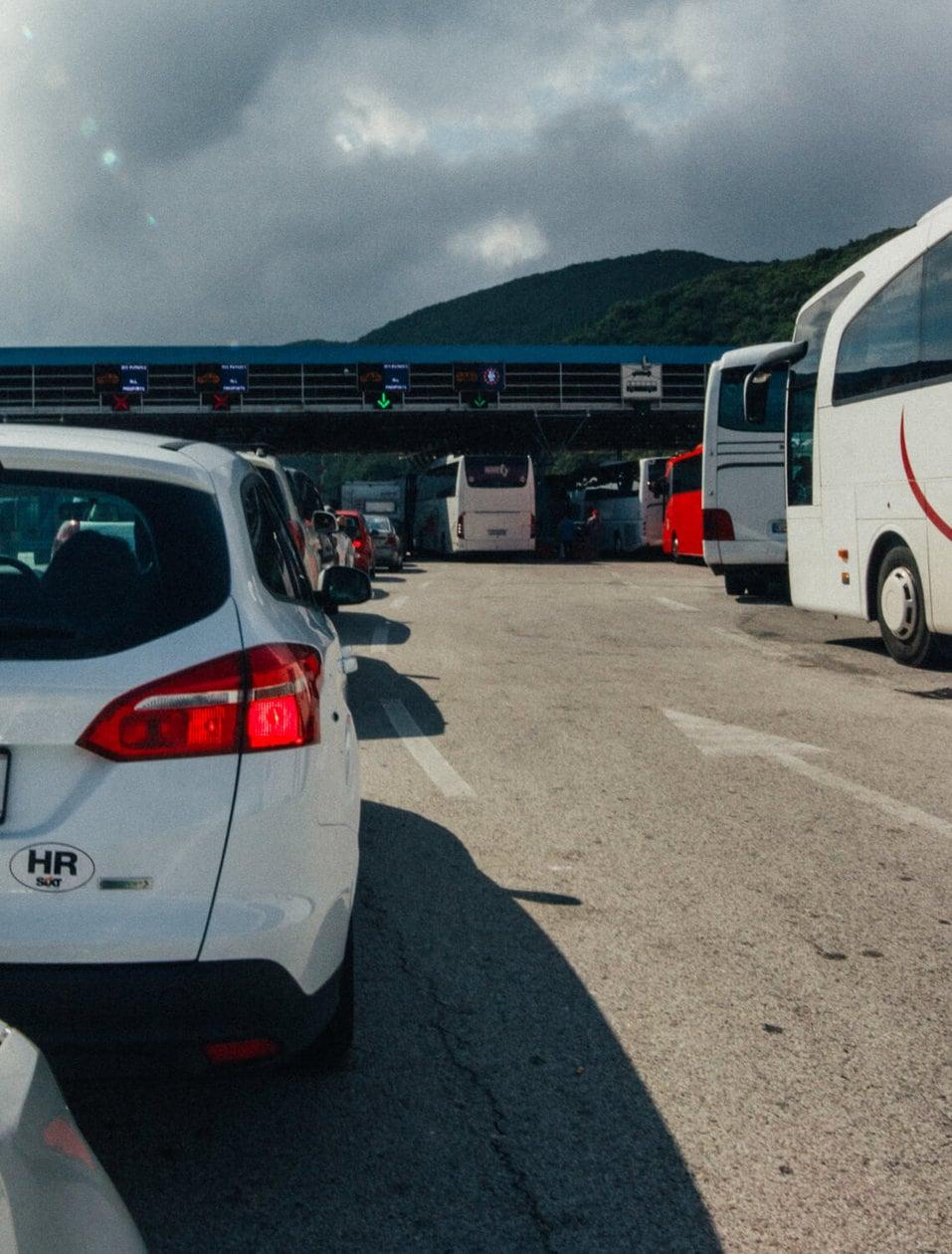 Dubrovnik Montenegro Border Crossing