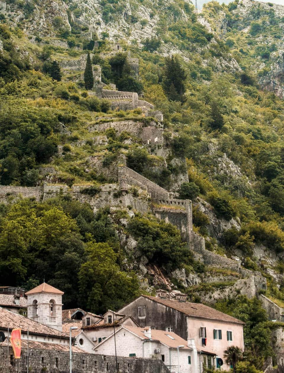 Kotor Fortress , Montenegro