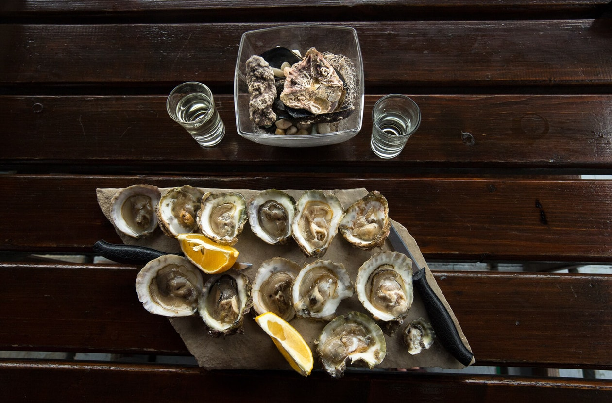 The Best Sustainable Oysters in Montenegro