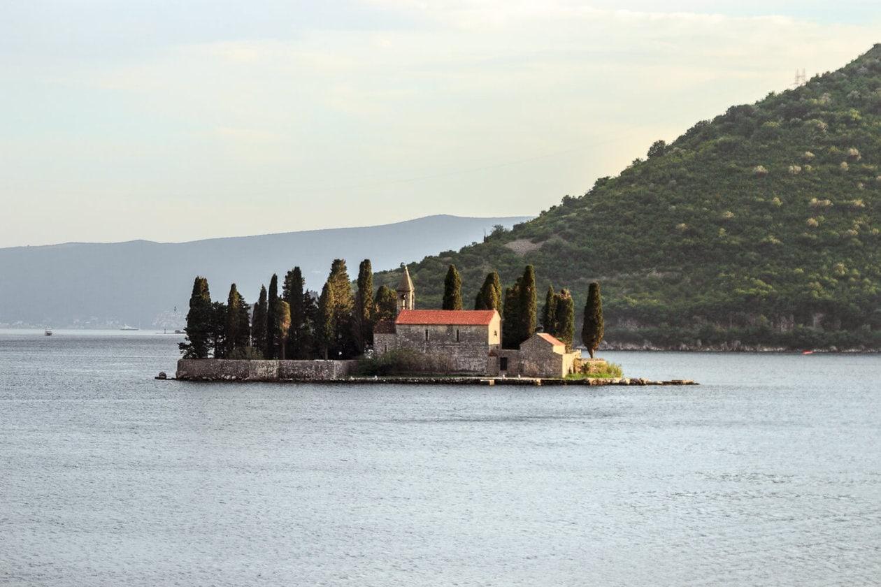 Island of St. George, PerastMontenegró