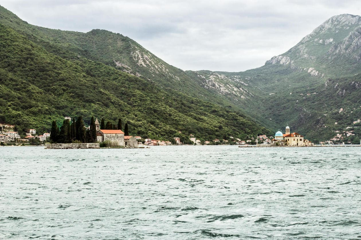 Perast Montenegró Islands