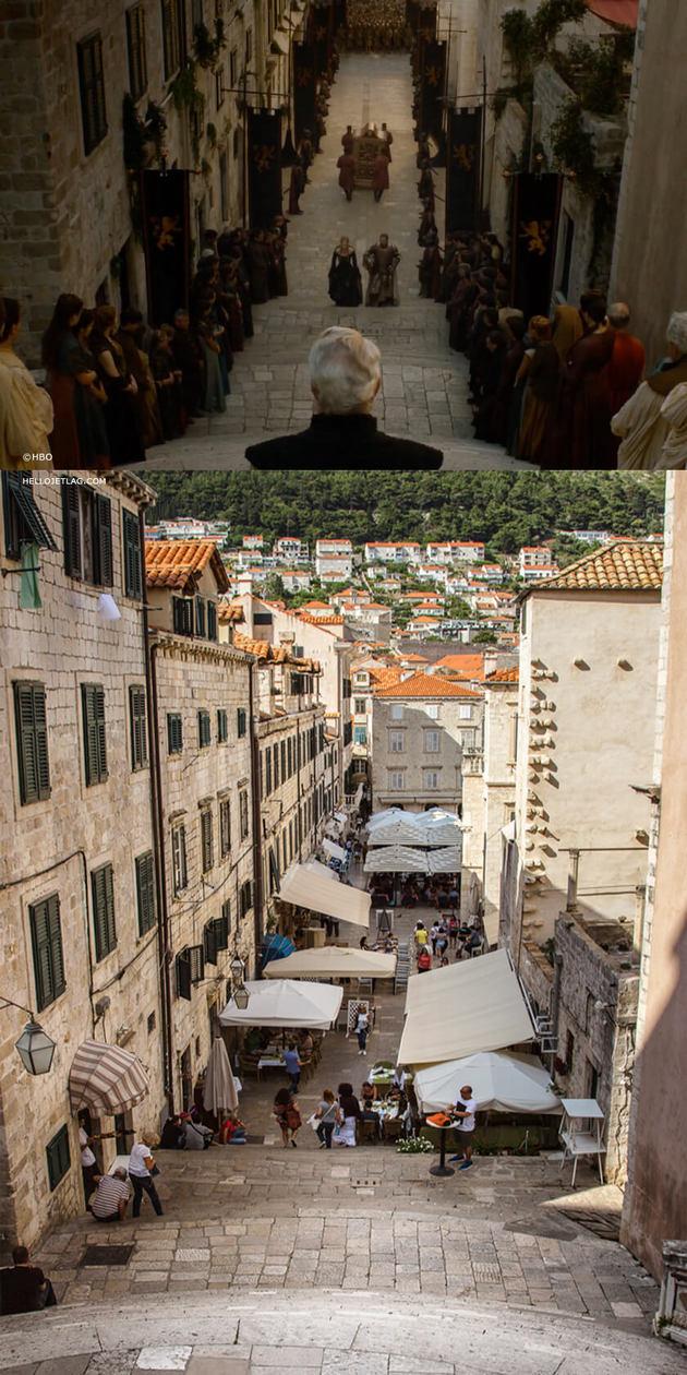 Dubrovnik King's Landing Locations