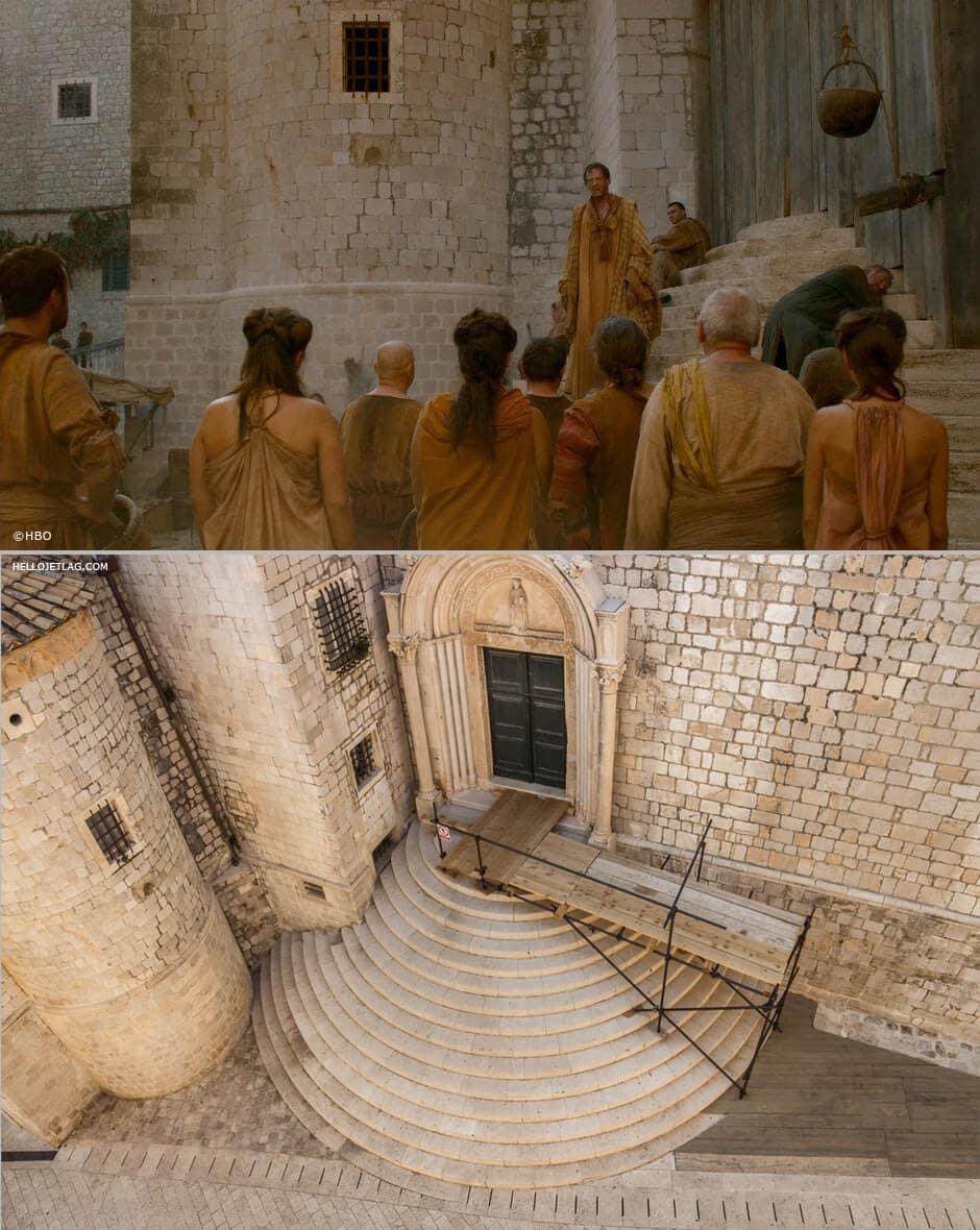 Dubrovnik Game of Thrones: St. Dominic Street