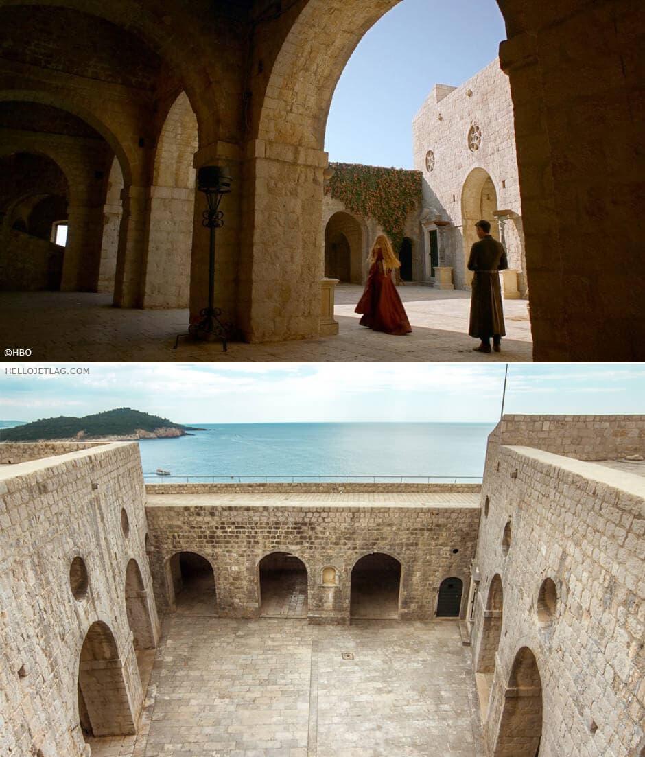 The Red Keep aka Dubrovnik's Fortress Lovrijenac