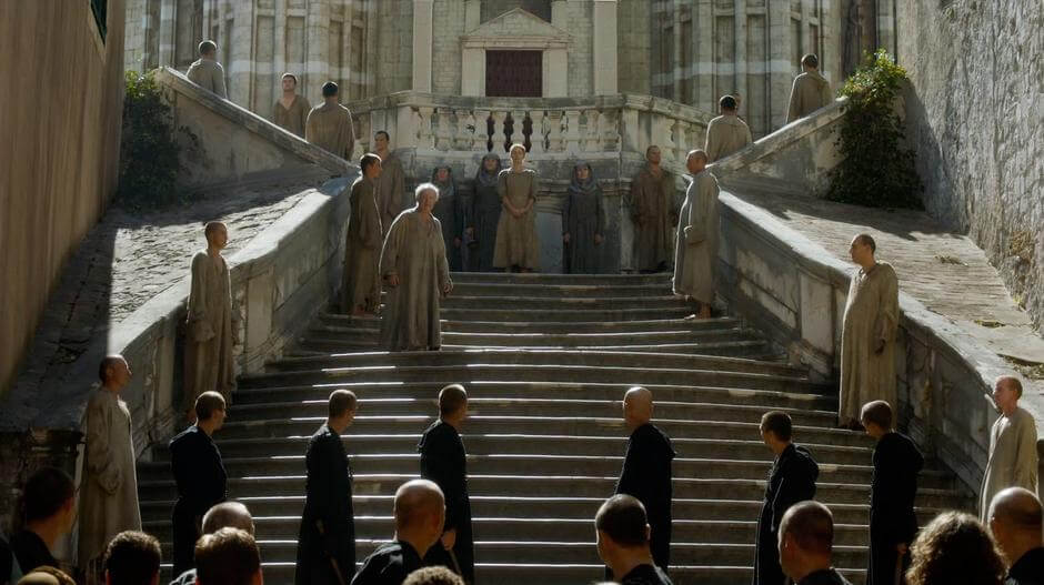 Dubrovnik Game of Thrones: Jesuit Steps