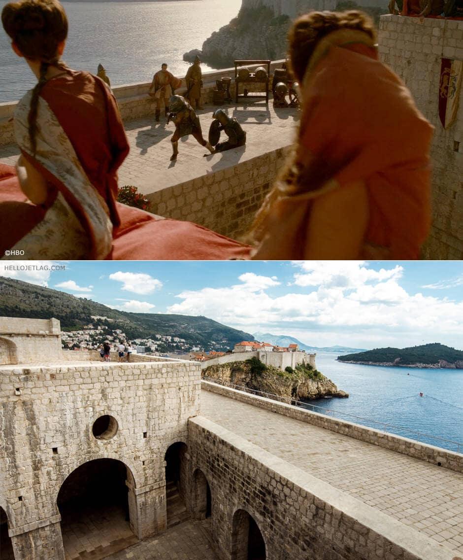 Dubrovnik Game of Thrones Self Tour: Fort Lovrijenac