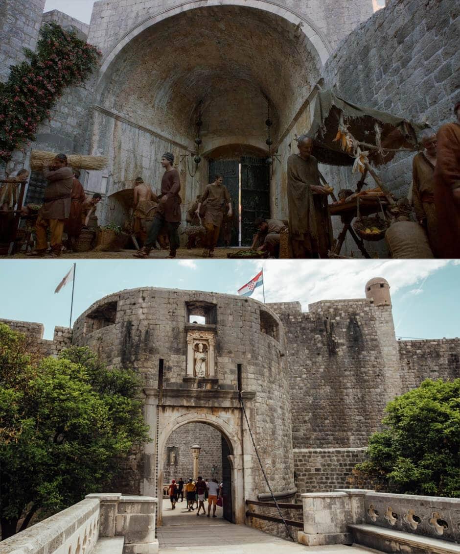 Dubrovnik Game of Thrones DIY Tour: Pile Gate