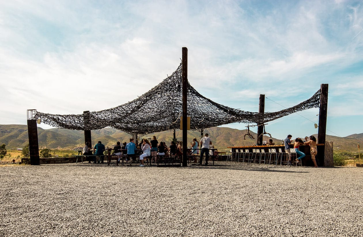 Vena Cava Winery in Valle de Guadalupe Mexico