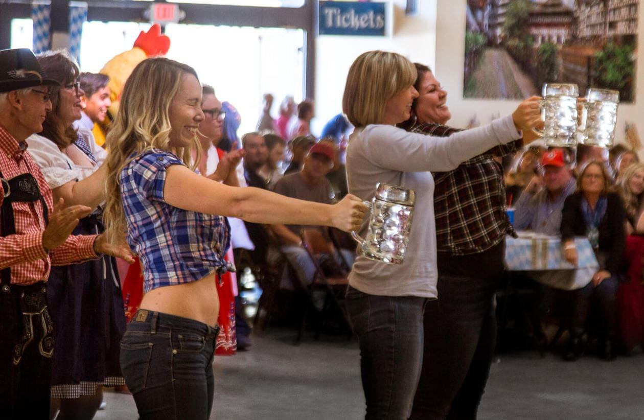 Big Bear Oktoberfest Stein Holding Contest