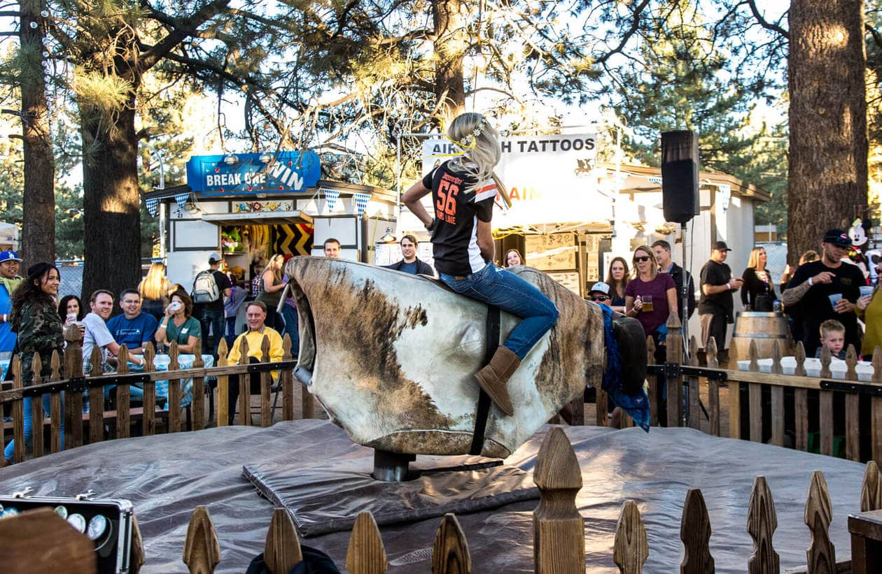 Big Bear Oktoberfest Mechanical Bull