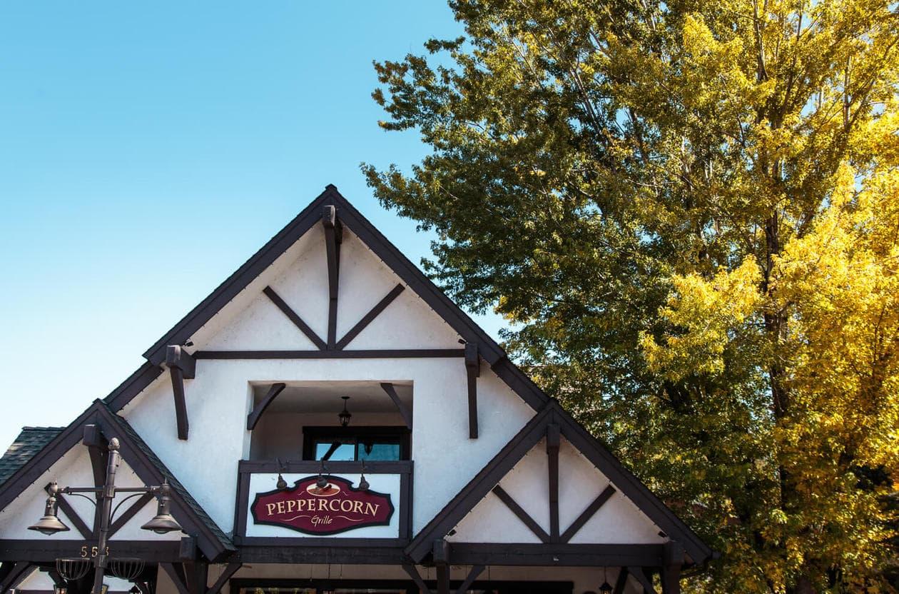 Peppercorn Grill Big Bear California
