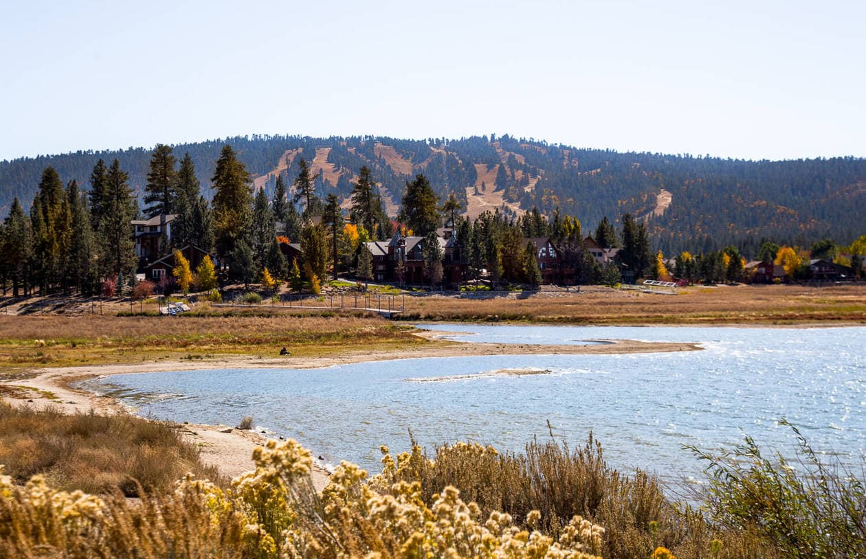 Big Bear Lake in the Fall