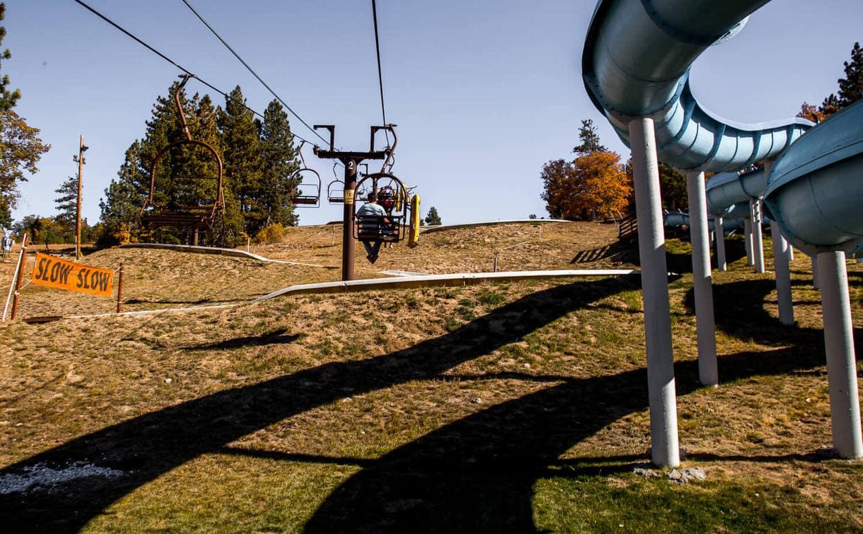 Alpine Slide at Magic Mountain Big Bear
