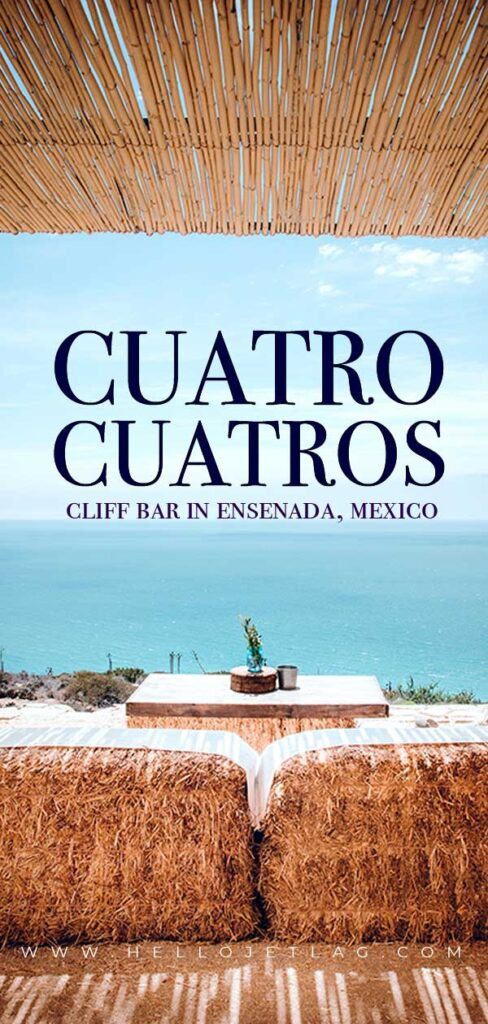 Cliff Bar in Ensenada Mexico