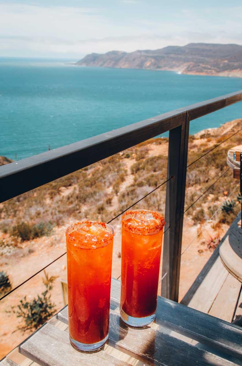 Micheladas in Baja California, Mexico