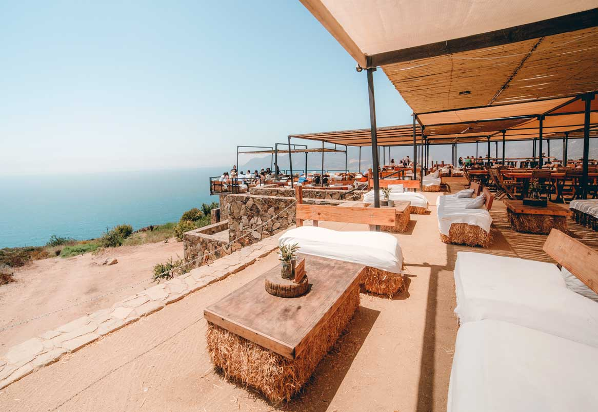 Cliffside Sunset Bar in Ensenada, Mexico