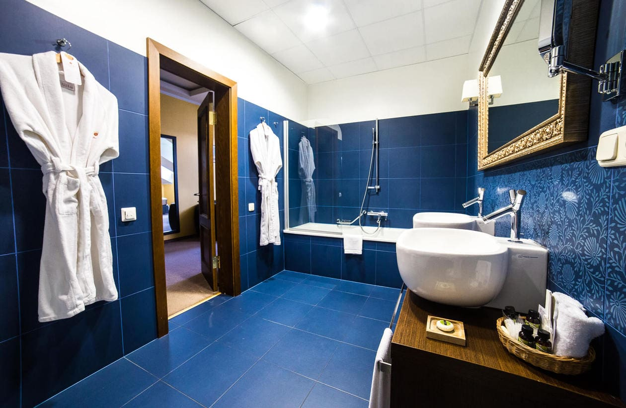Gallery Park Hotel and Spa in Riga, Latvia - Room Bathroom