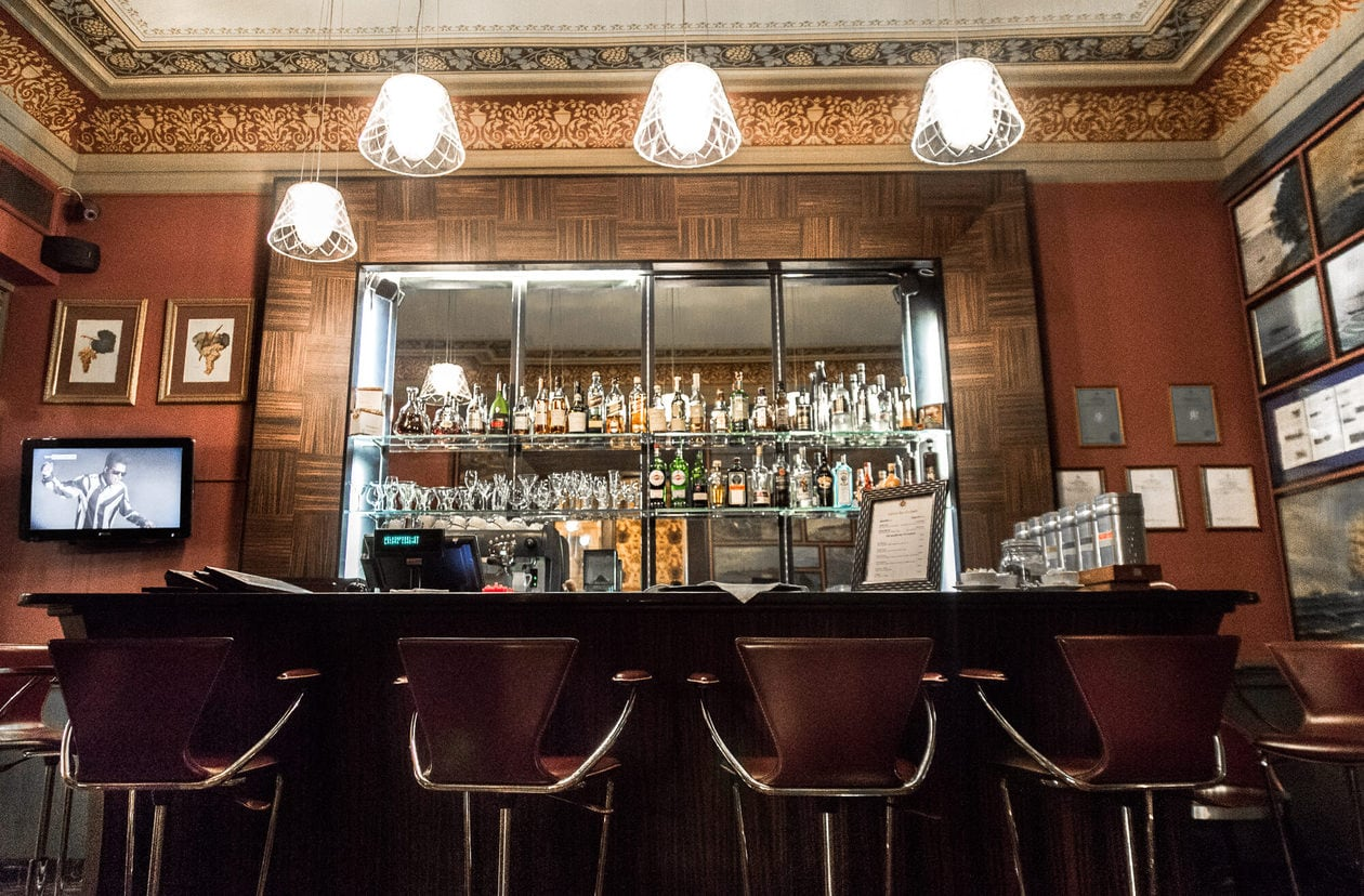 Gallery Bar Vinoteka at Gallery Park Hotel and Spa in Riga, Latvia