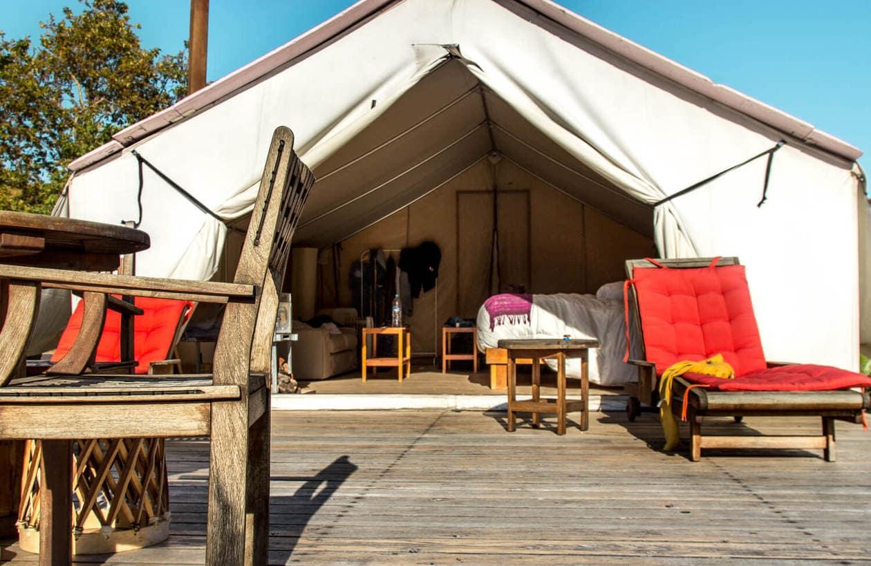 Cabañas Cuatro Cuatros | Valle de Guadalupe Glamping Tents