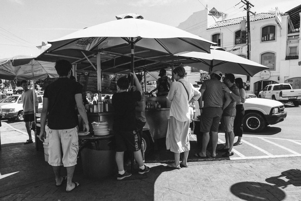 La Guerrerense Ceviche Street Cart in Ensenada