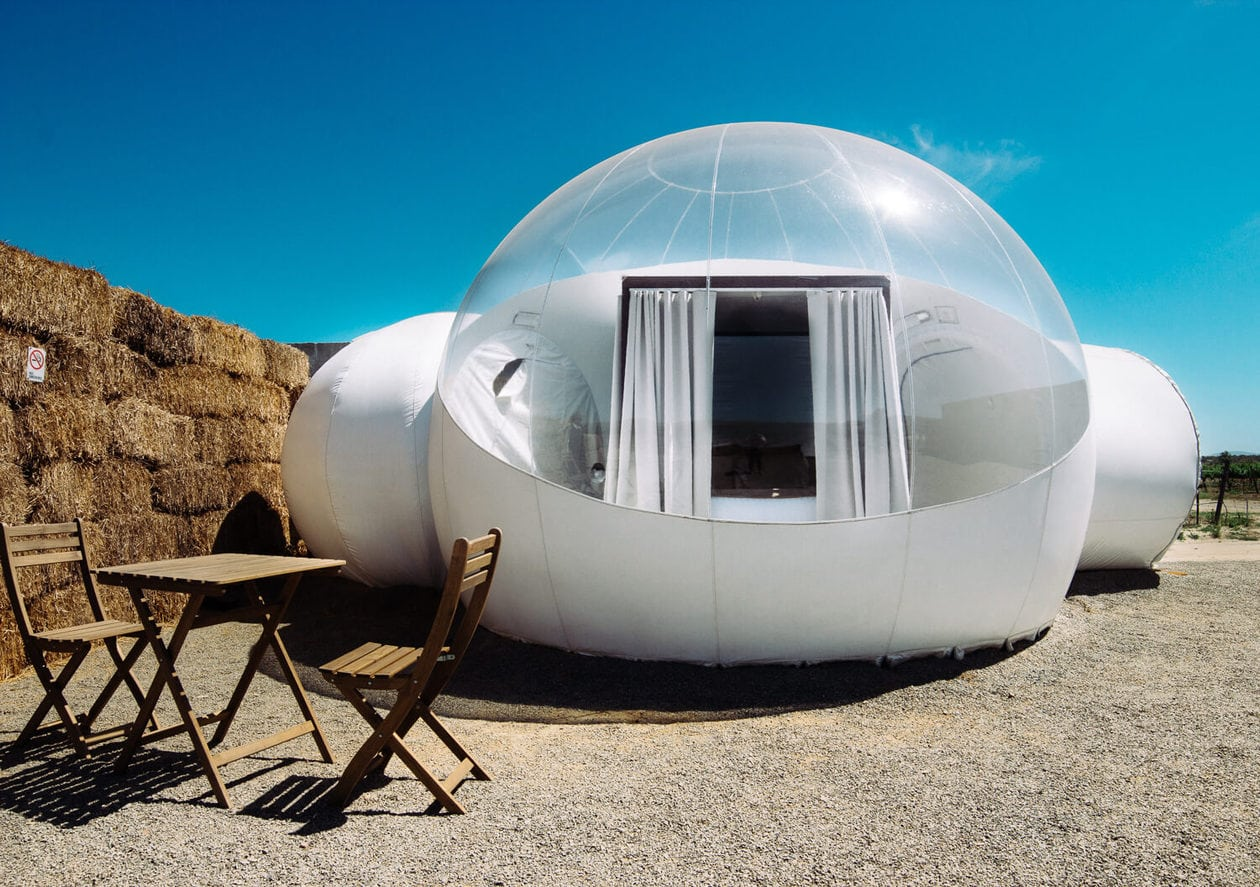 Campera Hotel Burbuja | Bubble Hotel in Valle de Gudalupe Mexico