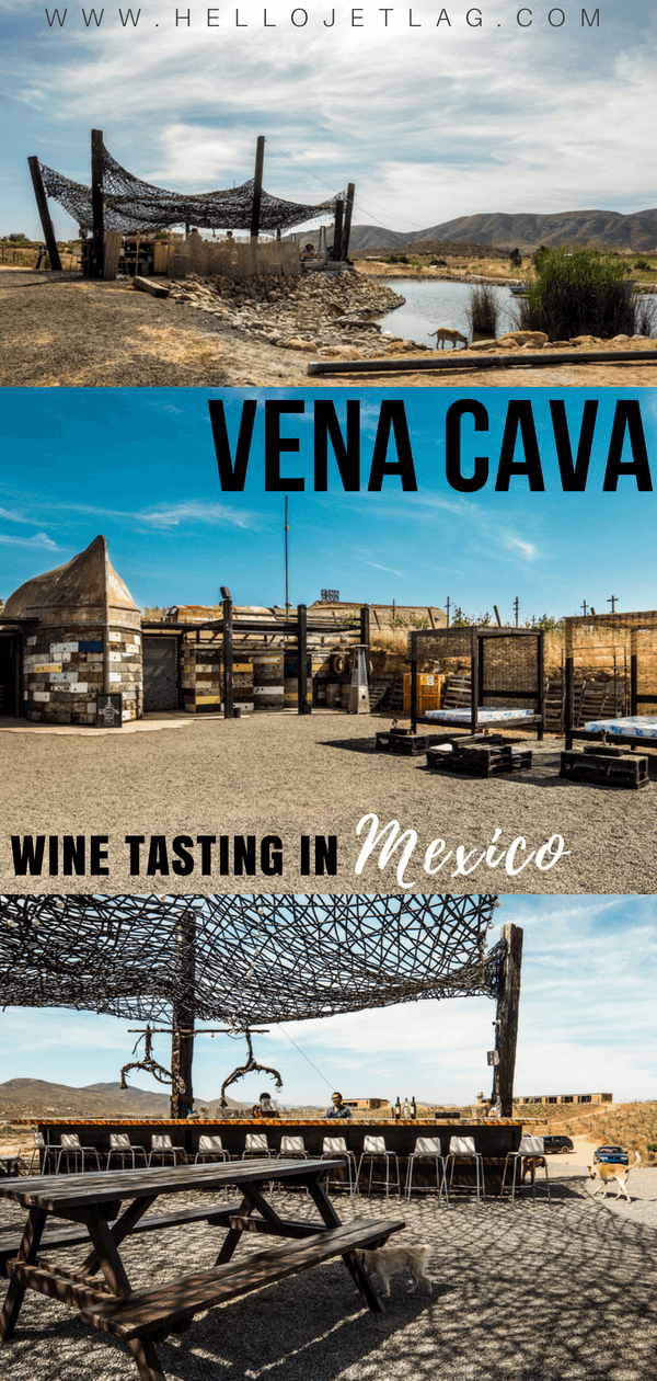 Vena Cava Winery is a must visit on any Valle de Guadalupe wine tasting itinerary. It's unique design (made from recycled materials!), award winning wine and popular food truck, Troika make Vena Cava one of the coolest stops on the valley.