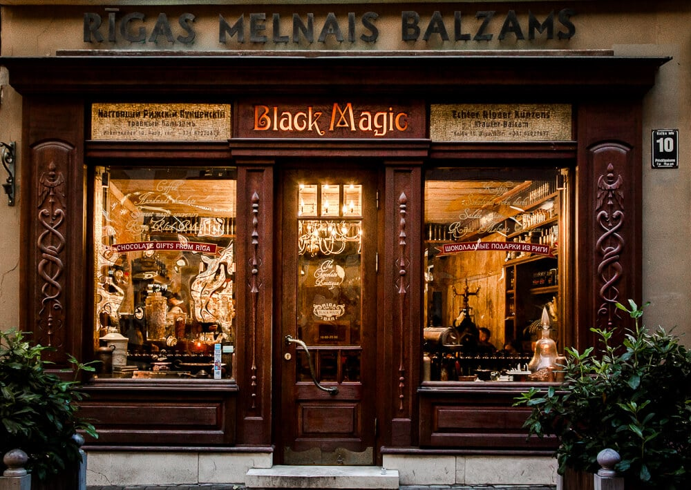 Black Magic Bar in Riga: Taste Riga Black Balsam