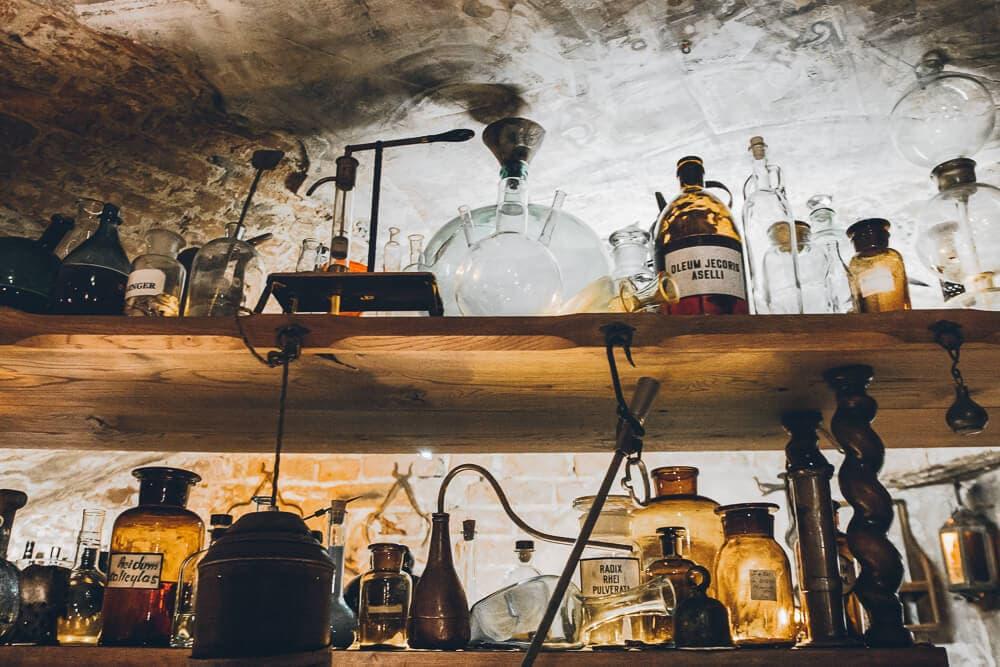 Apothecary Bar in Riga Latvia