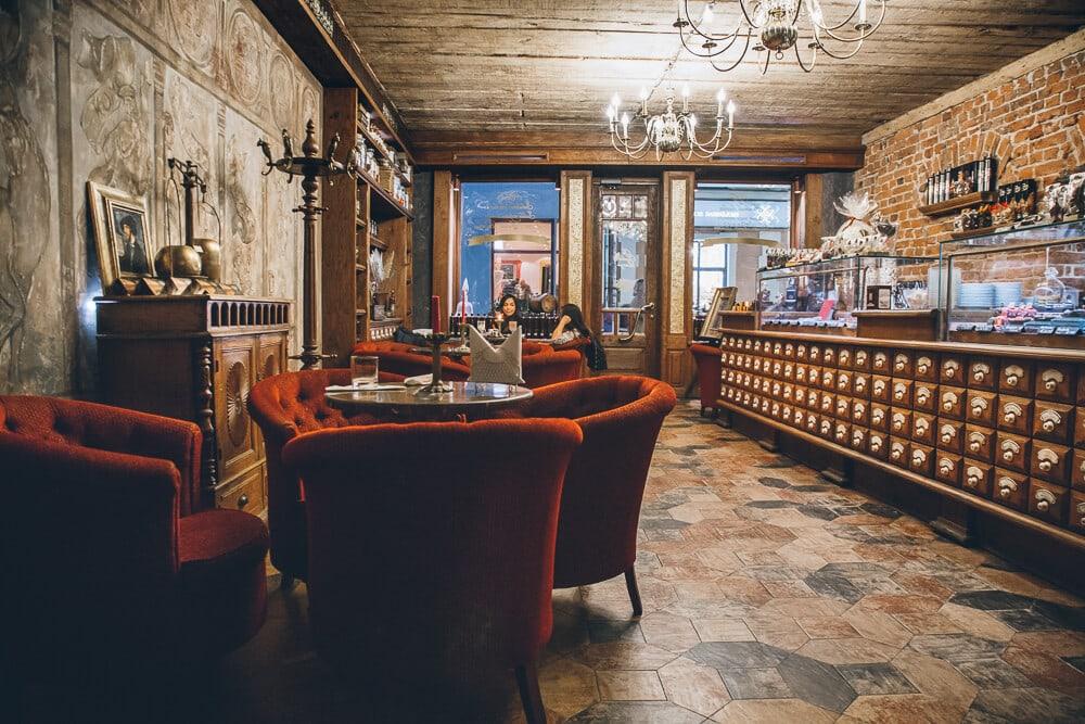 Desert Restaurant in Riga: Black Magic