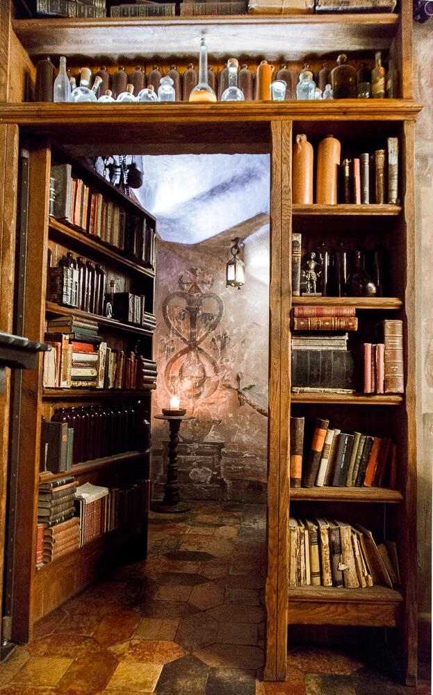 Hidden Bookshelf in Riga