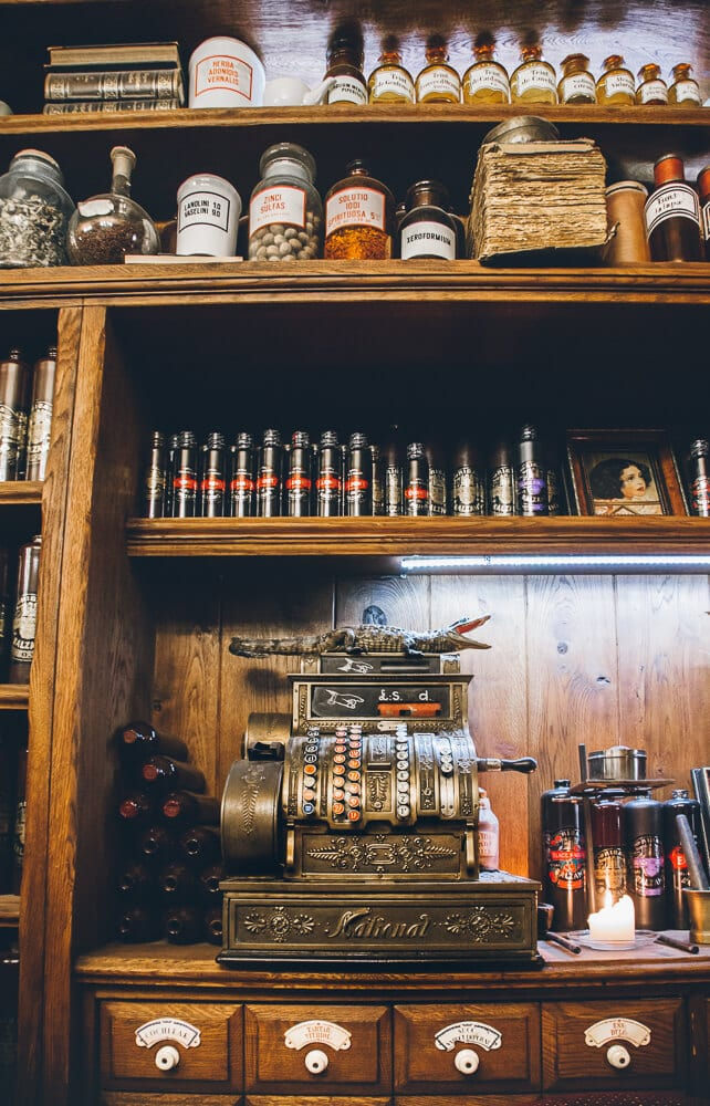 Apothecary Bar in Riga Latvia