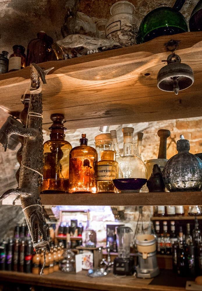 Black Magic Bar in Riga Latvia