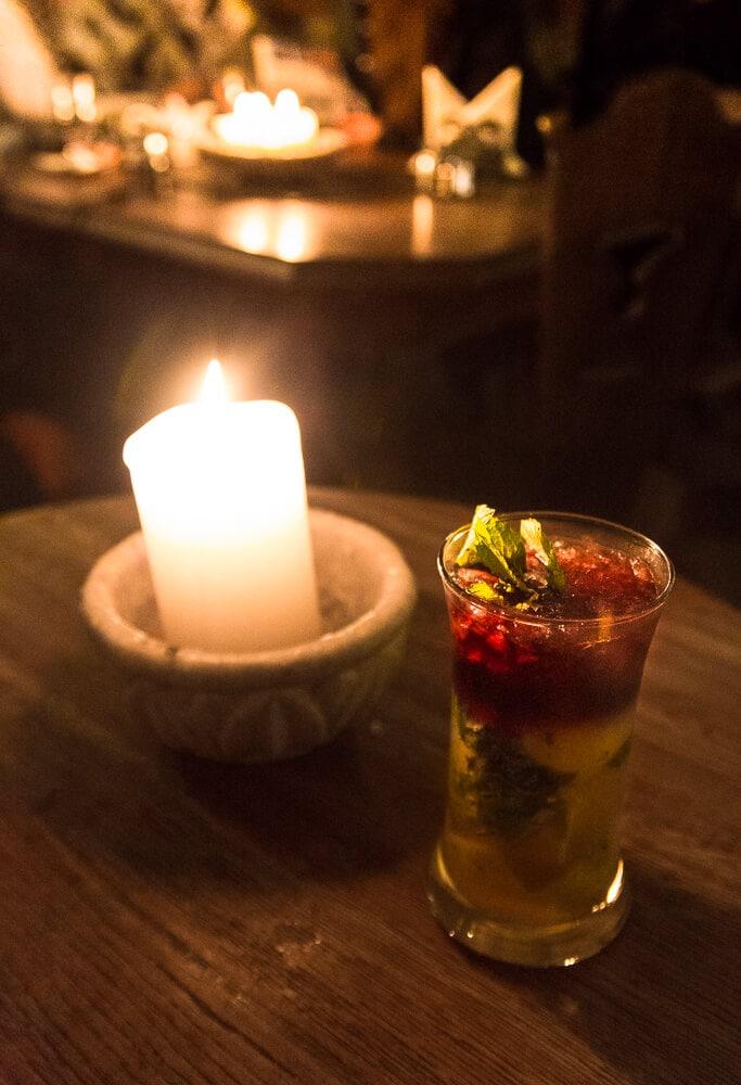 Riga Black Balsam: Black Mojito at Black Magic Bar