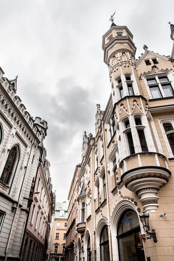 Pictures of Old Town Riga, Latvia