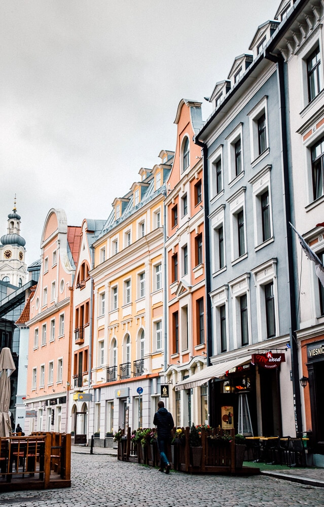What to do in Riga // Walk Around Old Town